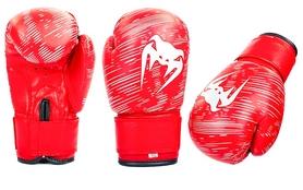 Перчатки боксерские детские Venum MA-5432-R красные - 2oz