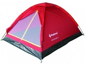 Палатка двухместная KingCamp Monodome 2(KT3016) Red