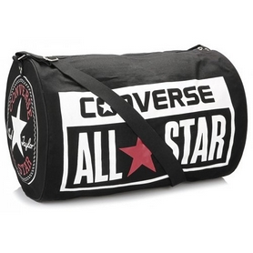 Сумка спортивная Converse Legacy Barrel Duffel Bag Varsity черная