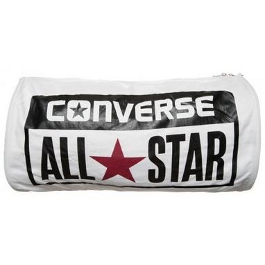 Сумка спортивная Converse Legacy Barrel Duffel Bag Varsity белая
