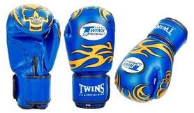Перчатки боксерские Twins MA-5435 синие