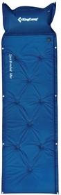 Коврик самонадувающийся KingCamp Point Inflatable Mat Dark blue