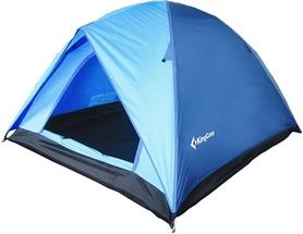 Палатка трехместная KingCamp Family 3 (KT3073) синяя