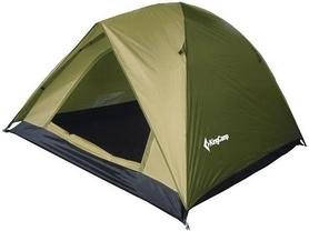 Палатка трехместная KingCamp Family 3 (KT3073) зеленая