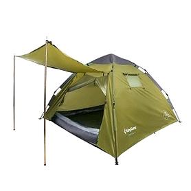 Палатка трехместная KingCamp Monza 3 Apple green