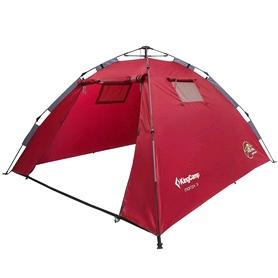 Палатка трехместная KingCamp Monza 3 Dark red