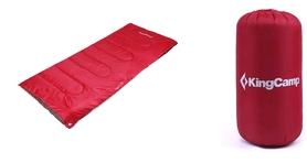Мешок спальный (спальник) KingCamp Oxygen L Crimson
