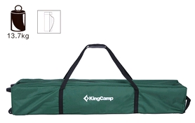 Фото 2 к товару Тент KingCamp Gazebo Green