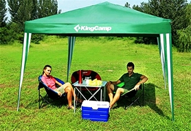 Фото 4 к товару Тент KingCamp Gazebo Green