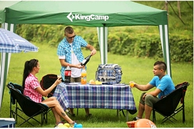 Фото 7 к товару Тент KingCamp Gazebo Green