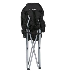 Фото 3 к товару Кресло туристическое складное KingCamp Heavy duty steel folding chair Black/grey