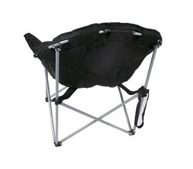 Фото 4 к товару Кресло туристическое складное KingCamp Heavy duty steel folding chair Black/grey