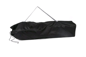 Фото 5 к товару Кресло туристическое складное KingCamp Heavy duty steel folding chair Black/grey