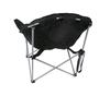 Кресло туристическое складное KingCamp Heavy duty steel folding chair Black/grey - фото 4