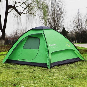 Палатка трехместная KingCamp Tuscany 3 Green