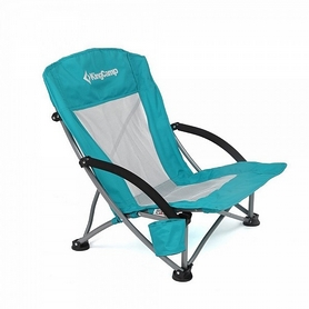 Кресло туристическое складное KingCamp Beach Chair Cyan