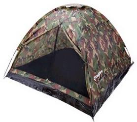 Палатка трехместная KingCamp Monodome 3(KT3010) Camo