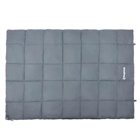 Мешок спальный (спальник) KingCamp Active 250 Double (KS3189) R Grey