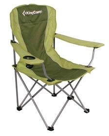 Кресло туристическое складное KingCamp Arms Chairin Steel (KC3818) Green