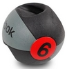 Мяч медицинский (медбол) с ручками Reebok Double Grip Med Ball 6 кг - фото 2