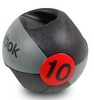 Мяч медицинский (медбол) с ручками Reebok Double Grip Med Ball 10 кг - фото 1