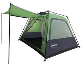 Палатка четырехместная KingCamp Camp King Green