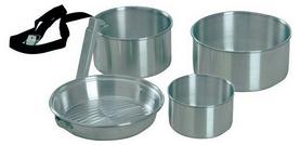 Набор посуды туристический KingCamp Camper 3 Silver