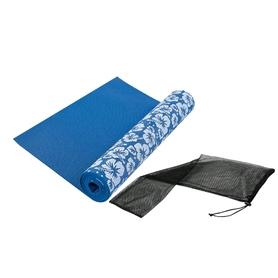 Коврик для йоги (йога-мат) Tunturi Yoga Mat Printed 3 мм синий