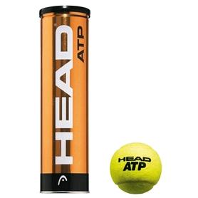 head Мячи для большого тенниса Head ATP Metal CAN (4 шт) 570314