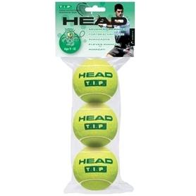 head Мячи для большого тенниса Head Tip Green (3 шт) для детей 9-10 лет 578233