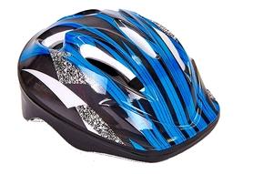 Велошлем детский ZLT SK-5610-BL сине-черный