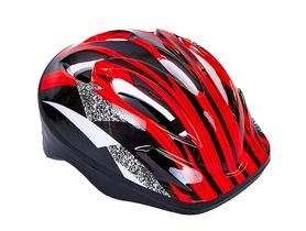 Велошлем детский ZLT SK-5610-R красно-черный