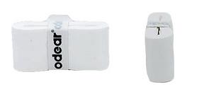 Намотка для теннисной ракетки Odear Overgrip - белая, 12 шт (цена за 1 шт)