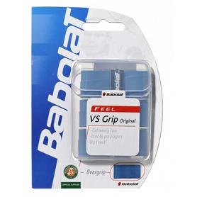 babolat Намотка для теннисной ракетки Babolat VS Overgrip синяя 3 шт 653014-136