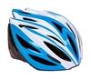 Велошлем ZLT SK-5612-2 голубой-белый