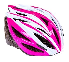 Велошлем ZLT SK-5612-3 розовый-белый