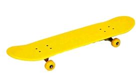Скейтборд ZLT SK-5615-4 желтый