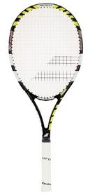 Ракетка для большого тенниса Babolat Pulsion 102 Strung grip 4 желтая