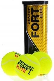 dunlop Мячи для большого тенниса Dunlop Fort Elite (3 шт) 601194