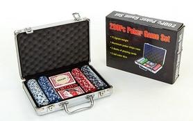 Набор для игры в покер на 200 фишек КНР IG-2056