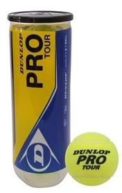 dunlop Мячи для большого тенниса Dunlop Pro Tour 3B (3 шт) 602200