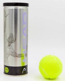 head Мячи для большого тенниса Head Silver Metal Can (3 шт) 571303