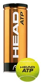 head Мячи для большого тенниса Head ATP Metal Can (3 шт) 570303