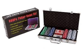 Набор для игры в покер на 300 фишек КНР IG-2114