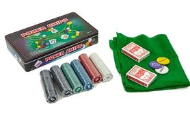 Набор для игры в покер на 300 фишек ZLT IG-4394