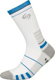 Термоноски унисекс InMove Sport Deodorant бело-синие