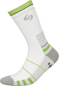 Термоноски унисекс InMove Sport Deodorant бело-зеленые