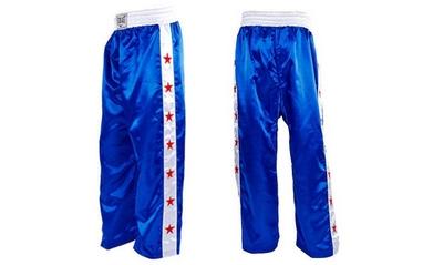 Брюки для кикбоксинга Combat Budo (синие)