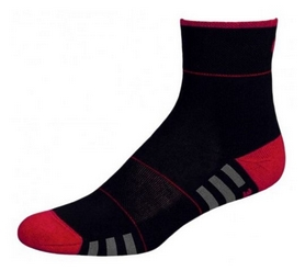 Носки унисекс InMove Fitness Deodorant black/red