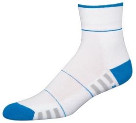 Носки унисекс InMove Fitness Deodorant white/blue